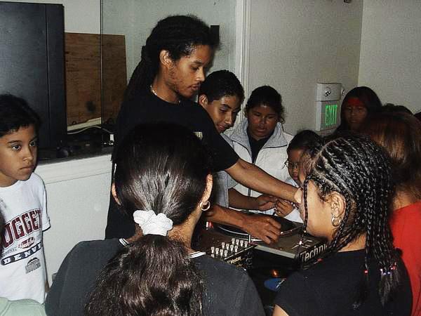 Teaching in Marin, '02