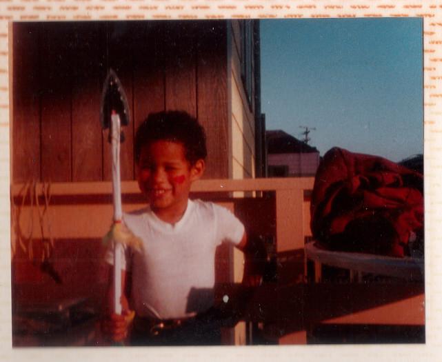 photo of Robert Trujillo, in 1987 (San Francisco, CA)