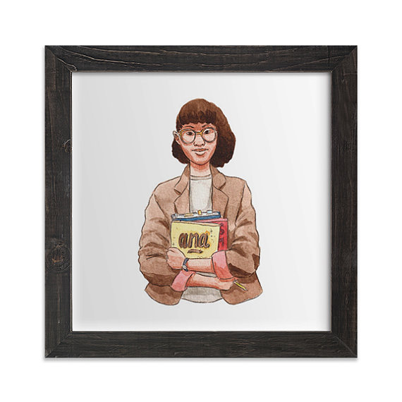 Ana Delgado (Stand and Deliver) Print