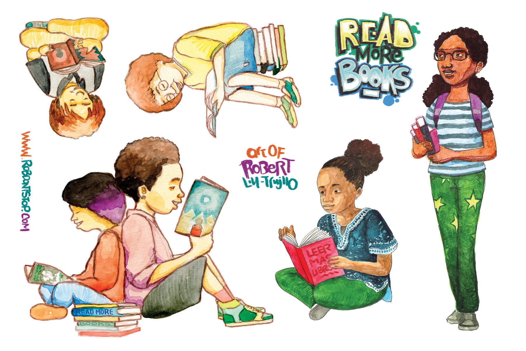 Sticker Sheet for readers