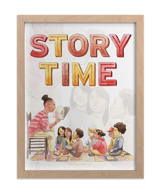 Story time print 1