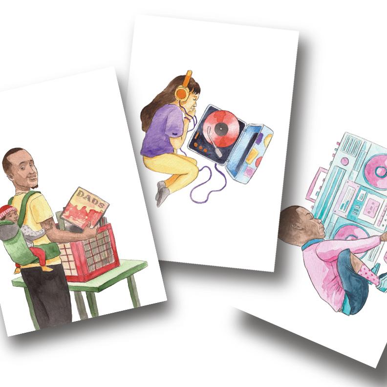 Music Series | Postcard Set | Various