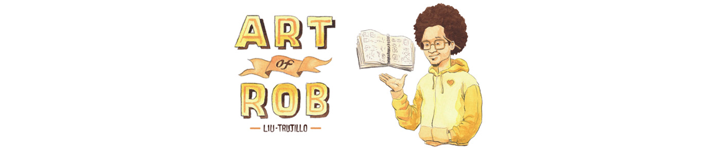 Art of Robert Liu-Trujillo | Sticker sheet for Librarians