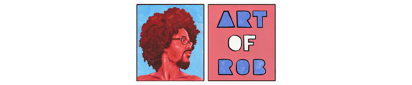 Art of Robert Liu-Trujillo | Afro Pick
