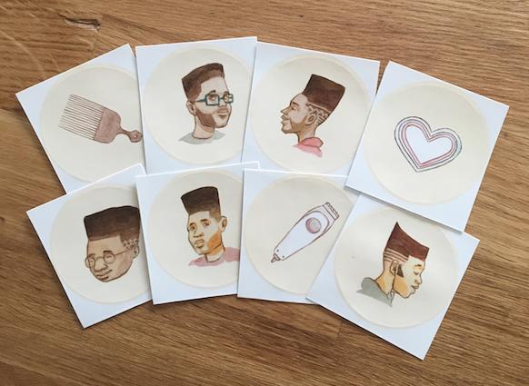 Various Flat top Stickers