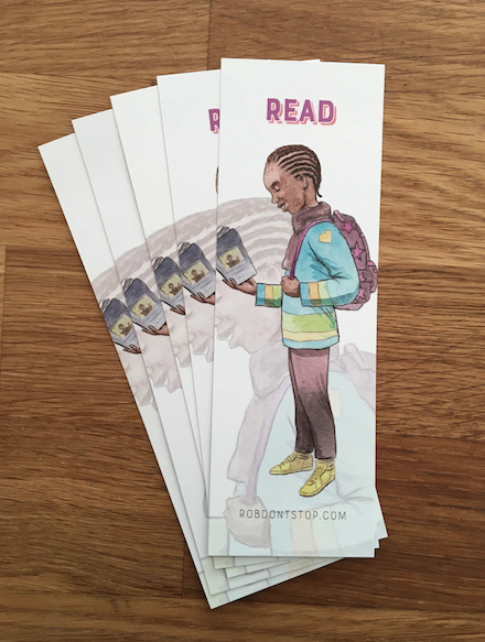 Young Black Boy | Bookmark | Reading Accessory