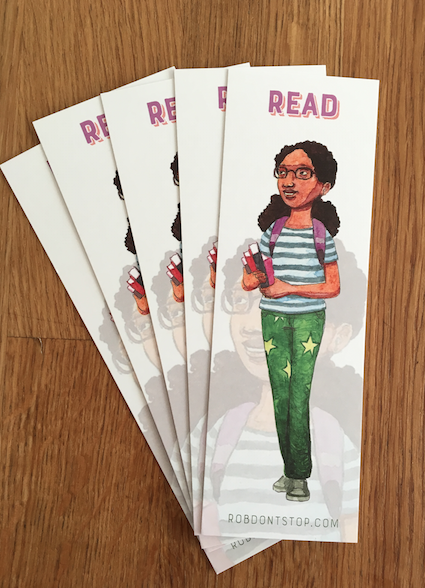 Young Black Girl | Bookmark | Reading Accessory