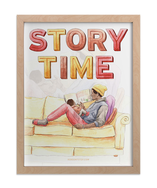 Story time print 3