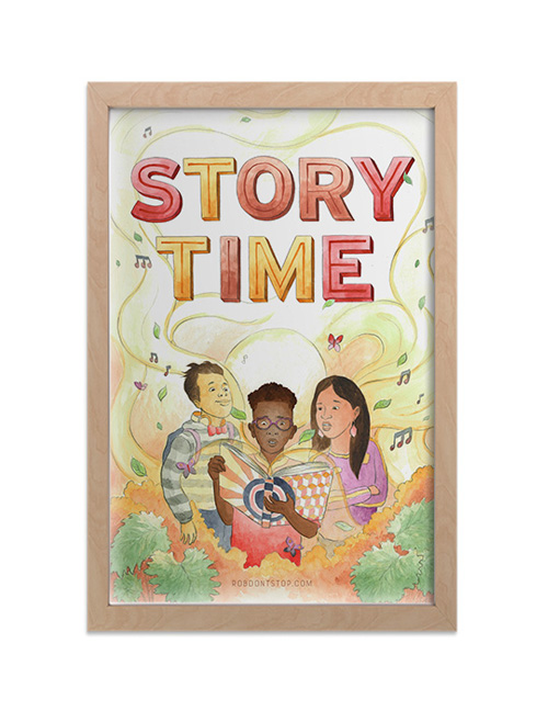 Story time print 2