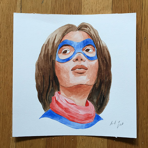 Kamala Khan Painting