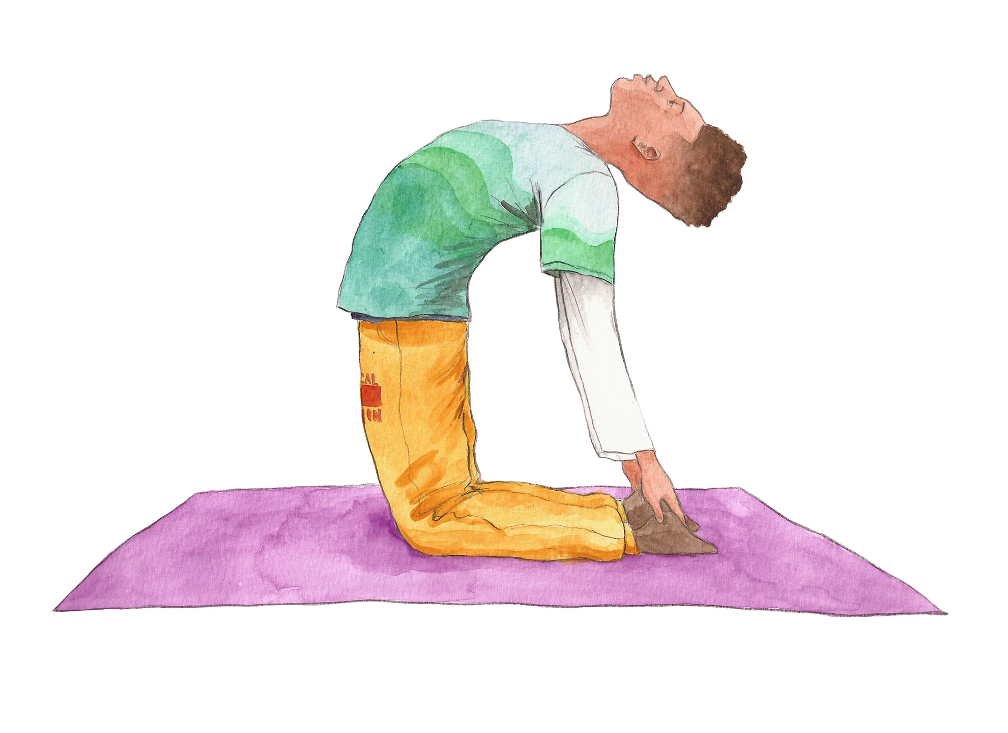 Camel Pose | Yoga Pose | Kid Yoga